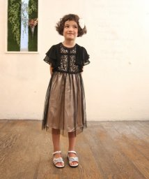 Eimy Peal by POWDER SUGAR Kids/ビーズパイピングフレア袖ボレロ(KIDS)/502474186