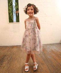 Eimy Peal by POWDER SUGAR Kids/花柄チュール重ねドレス(KIDS)/502474187