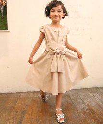 Eimy Peal by POWDER SUGAR Kids/ジャガード素材リボン付きドレス(KIDS)/502474188