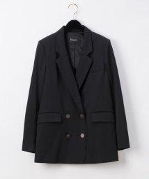 GRACE CONTINENTAL/刺繍ダブルブレストジャケット/502474320