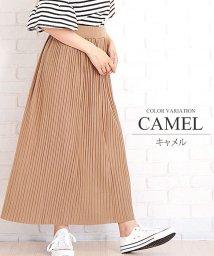 Amulet/大人プリーツスカート ロング ファッション レディース ゆったり かわいい 動きやすい かわいい【S/S】【vl-5330】/502474420