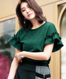 GeeRa/袖フリルTシャツ              /502457429