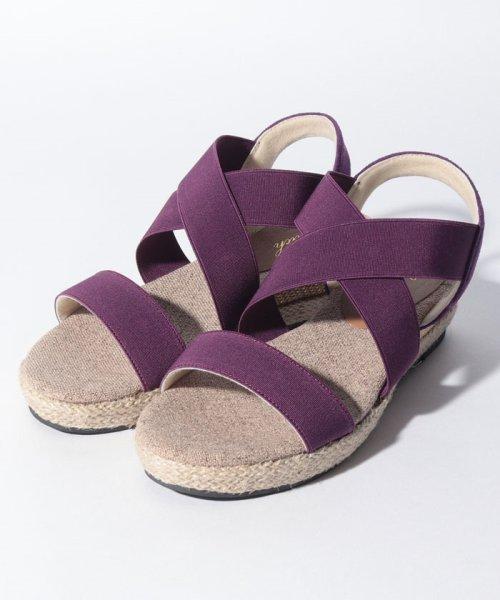 GeeRa(ジーラ)/【S~3L】足にフィット!ゴムデザインサンダル/204493