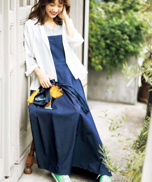 GeeRa(ジーラ)/サロペットデザインジャンパースカート    /204558
