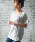 GeeRa/プリントチュニックTシャツ         /502457911