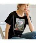 GeeRa/レディシルエットデザインTシャツ      /502457912
