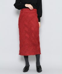URBAN RESEARCH OUTLET/【SENSEOFPLACE】ジャガードレースタイトスカート/502461652