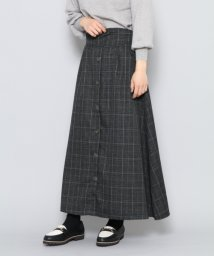 URBAN RESEARCH OUTLET/【SENSEOFPLACE】チェックフロントボタンロングスカート/502461691