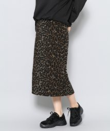 URBAN RESEARCH OUTLET/【SENSEOFPLACE】レオパードアイラインスカート/502461752