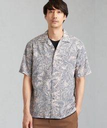 green label relaxing/MC ミラクルウェーブ パターン 半袖 / オープンカラーシャツ/502463781