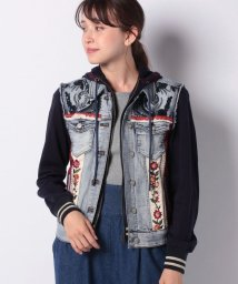 Desigual/WOMAN DENIM DENIM JACKET/502467807