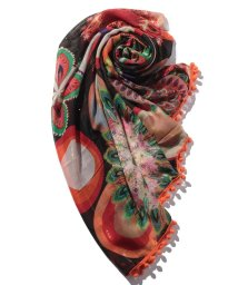Desigual/ACCESSORIES FABRIC RECTANGLE FOULARD/502467820