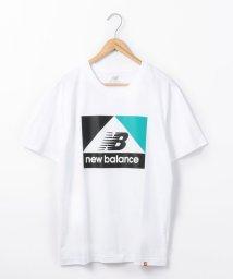 coen/New Balance(ニューバランス)アスレチックアーカイブプリントTシャツ/502467954