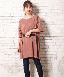 INGNI/ベルト付ロングTシャツ                          /502471637