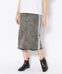 B'2nd/SURT(サート)MXSR02-BLK箔 SKT/メタリックラインスカート/502474909