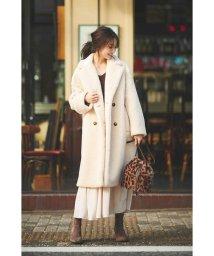 PROPORTION BODY DRESSING/|CanCam 11月号掲載|ボアコート◆/502475977
