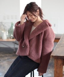 PROPORTION BODY DRESSING/|CanCam 11月号掲載|ボアショートコート◆/502475979