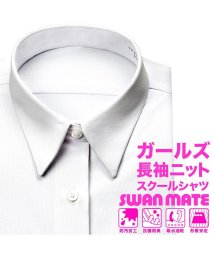 YAMAKI BRAND/SWANMATE 長袖レギュラーカラー ワイシャツ/502476285