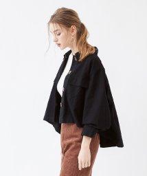 titivate/ミリタリーオーバーサイズシャツ/ジャケット/502476346