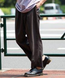 JUNRed/シャンブレードライワイドパンツ/502476496
