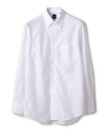 SHIPS MEN/SD: 【MONTI社製生地】カラミ ソリッド イタリアンボタンダウンシャツ(ホワイト)/502476642