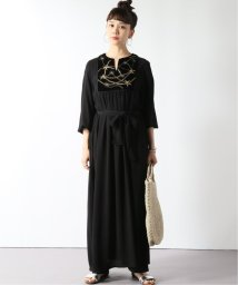 JOURNAL STANDARD/【SARA MALLIKA/サラマリカ】RAYON CRAPE ZARI EMB DRESS:ワンピース/502476693