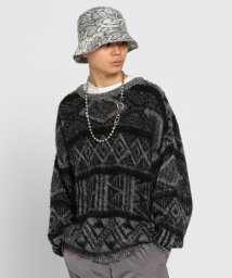 BEAMS OUTLET/VAPORIZE / Mohair Crew Knit/502476719