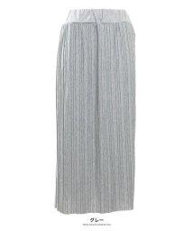 GROWINGRICH/[ボトムス スカート]カットプリーツロングスカート[190675]/502477251