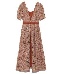 Lily Brown/レイヤード刺繍チュールワンピース/502477262