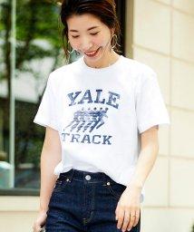 le.coeur blanc/GOOD ROCK SPEED YALE TRACK TEE/502344510
