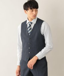 MACKINTOSH PHILOSOPHY/TROTTER extresolid WAISTCOAT ハウンドトゥース ストレッチ/502378252