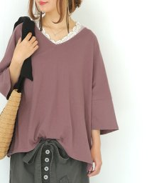 osharewalker/n'OrゆるっとシンプルVネックTシャツ/502477425