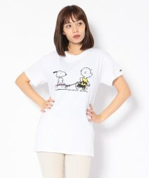"BEAVER/MANASTASH/マナスタッシュ 別注Movie Tee ""Peanuts slacker"" Tシャツ/502477764"