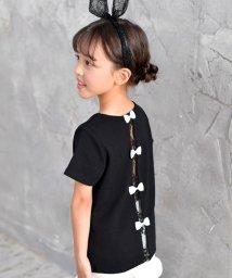 子供服Bee/バックリボン付きTシャツ/502480022