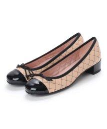 PRETTY BALLERINAS/プリティ バレリーナ PrettyBallerinas LINDSAY patent-leatherquilt(リンゼイ パテント x レザーキルト) ヒール付/502480116