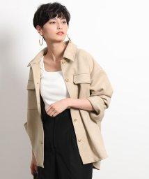 ROPE'/【2WAY】マイクロスエードシャツジャケット/502480249