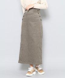 URBAN RESEARCH OUTLET/【SENSEOFPLACE】コーデュロイアイラインスカート/502461736
