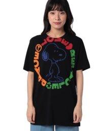 BENETTON (women)/【スヌーピーコラボ】オーバーサイズTシャツ・カットソーJCC/502467534