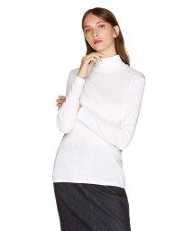 BENETTON (women)/袖ロゴ刺繍ハイネック長袖Tシャツ・カットソー/502474304
