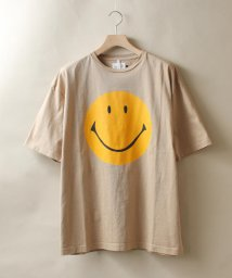 BEAVER/CAL O LINE - INNOVATIVE/キャル オー ライン イノベイティブ SMILE FRONT TEE スマイル Tシャツ/502482468