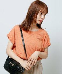 framesRayCassin/ポケット付裾ラウンドスラブTシャツ/502483783