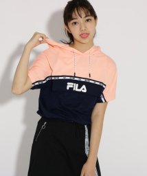 PINK-latte/★ニコラ掲載★【FILA】フード付 トップス/502483908