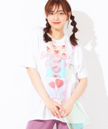 WEGO/WEGO/スイーツバリエーションフォトTシャツ/502426731