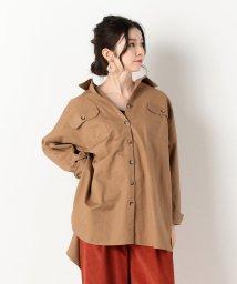 archives/無地&迷彩チュニックBIGシャツ/502442866