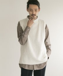 URBAN RESEARCH OUTLET/【UR】SHAGGYKNITCREWVEST/502461211
