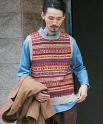 URBAN RESEARCH OUTLET/【UR】FAIRISLEKNITVEST/502461272