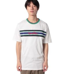 BENETTON (mens)/ニット切り替えロゴTシャツ・カットソー/502474315
