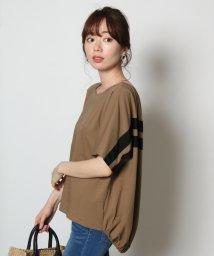 SCOTCLUB/GRANDTABLE(グランターブル) グログランラインTシャツ/502478303