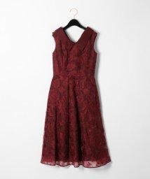 GRACE CONTINENTAL/オーガン刺繍ドレス/502486669