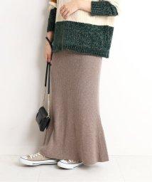 SLOBE IENA/《予約》ホールガーメントマーメイドニットスカート◆/502486957